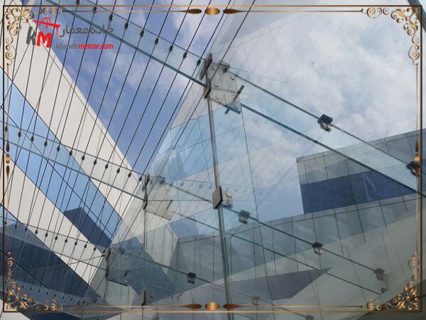 طراحی نمای شیشه ای