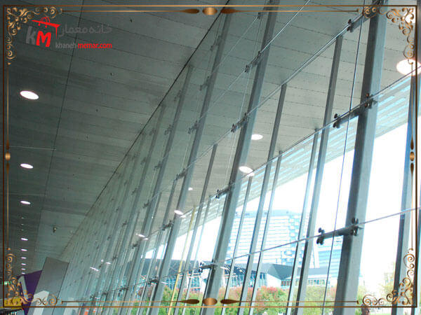 مزایای استفاده از نمای شیشه ای اسپایدر
