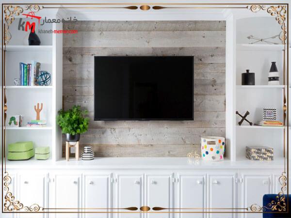 چگونه دکور تلویزیون دیواری خود را جذاب تر کنیم؟