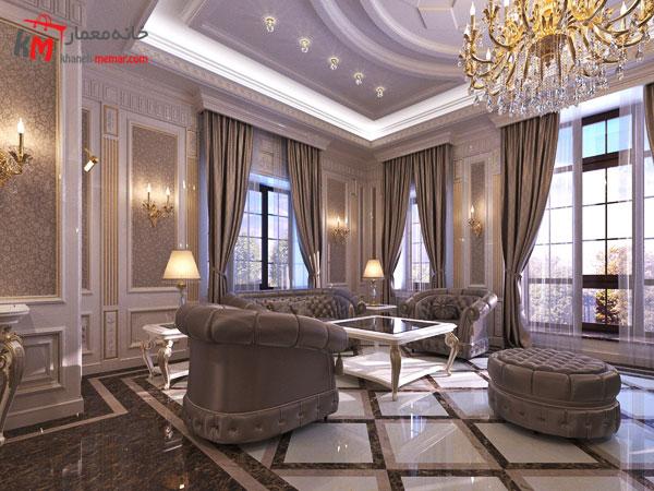 سبک کلاسیک با رنگ خاکستری و مات