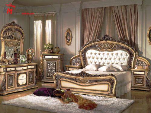 سبک کلاسیک در اتاق خواب