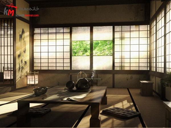 سبک ژاپنی درطراحی داخلی منزل