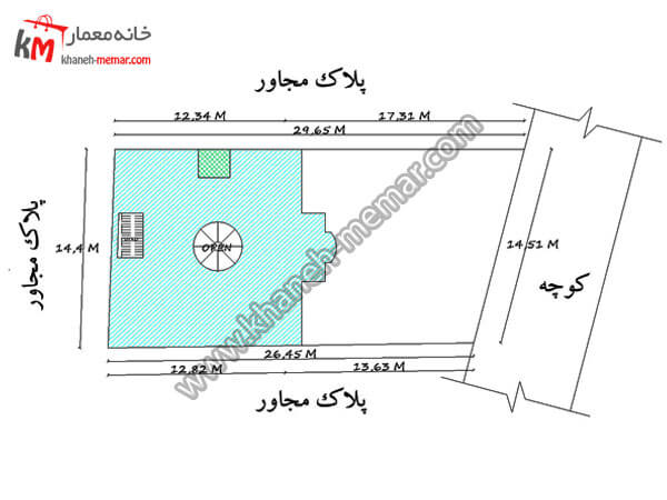 سایت پلان پروژه 984