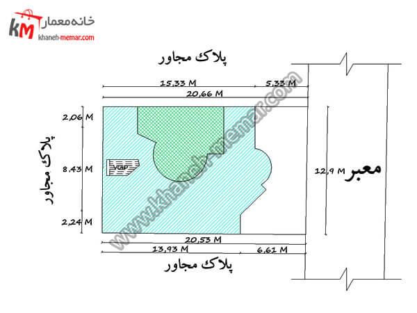 سایت پلان پروژه 986
