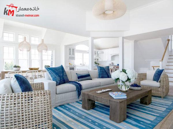 سبک ساحلی در دکور داخلی منزل