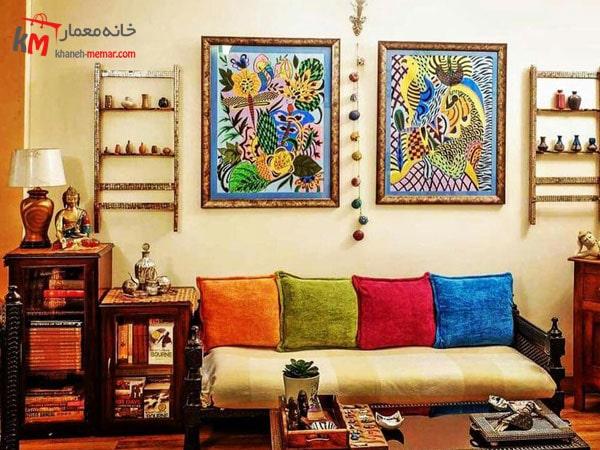 سبک هندی در دکوراسیون داخلی