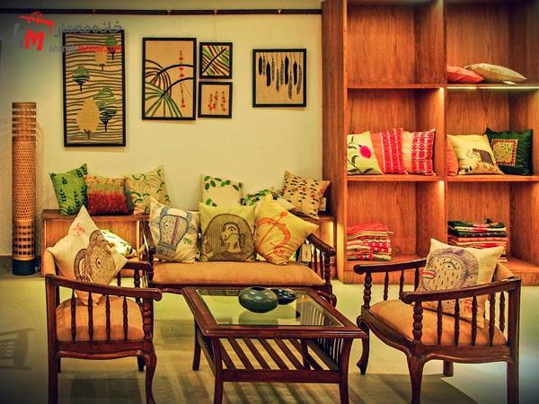 دکور داخلی با سبک هندی