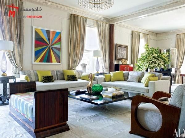دکوراسیون داخلی منزل با سبک آرت