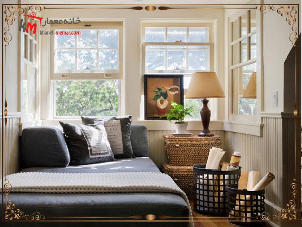 ایجاد فضای سبز در دکوراسیون اتاق خواب کوچک خود