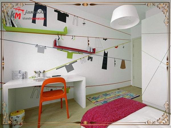 شلفهای خلاقانه در اتاق کودک