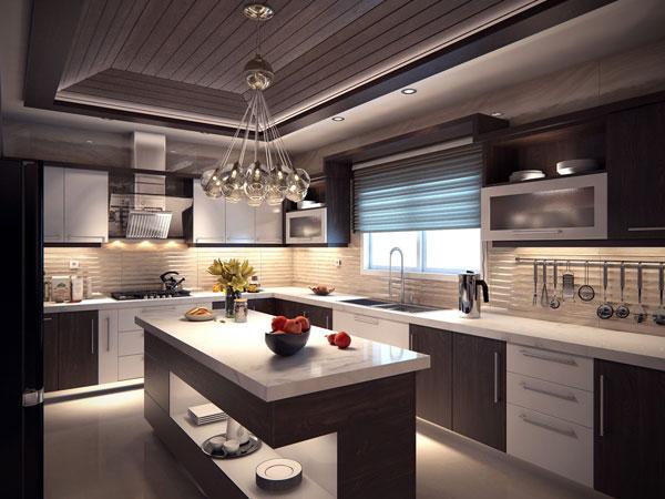 سبک مدرن در طراحی آشپزخانه