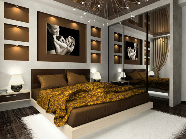 توجه به سقف ها در دیزاین اتاق خواب